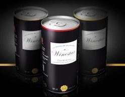 vino in lattina