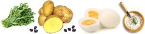 insalata di rucola e patate