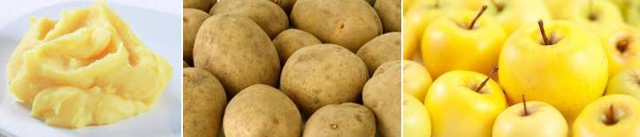 pure di patate e mele